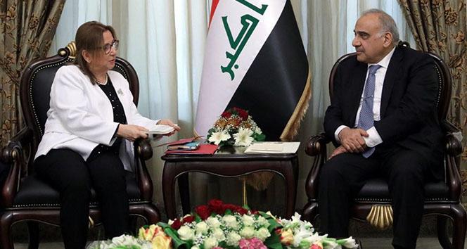 Ticaret Bakanı Pekcan, Bağdat'ta Abdülmehdi ile görüştü