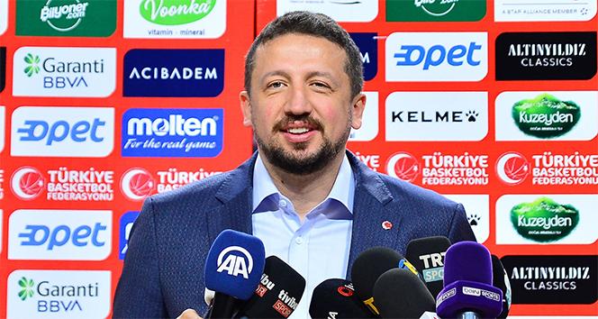 Hidayet Türkoğlu: 'İnşallah sorunsuz bir şekilde, hak edenin kazanacağı final izleriz'