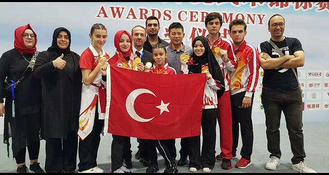 Çin'deki Kung Fu Şampiyonasında Türk başarısı