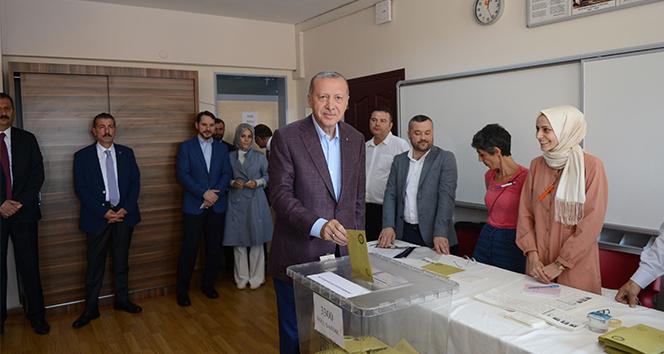 Cumhurbaşkanı Erdoğan: 'İstanbul seçmeni İstanbul için en isabetli kararı verecektir diye düşünüyorum'