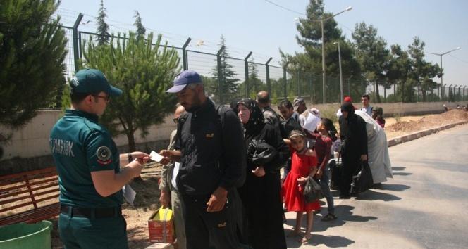 Bayramı ülkesinde geçiren 6 bin 500 Suriyeli dönüş yaptı