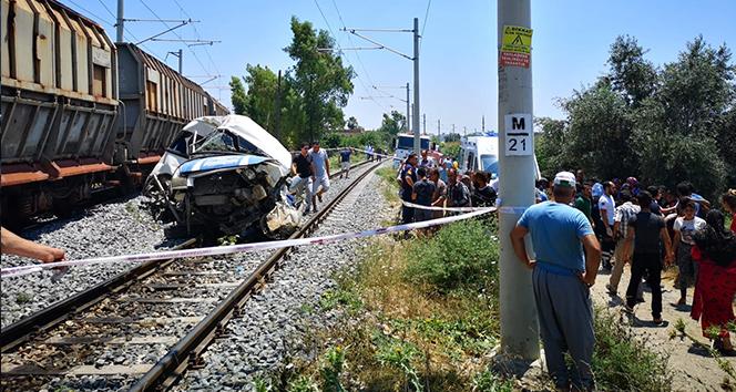 Mersin'deki tren kazasında yaralananların 2'sinin durumu ağır