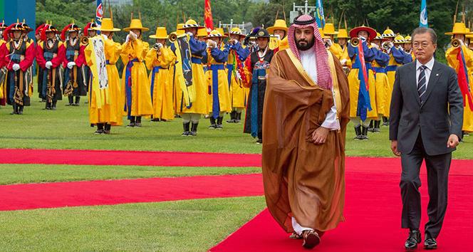Suudi Arabistan Güney Kore'ye 4 milyar dolarlık petrokimya tesisi kuruyor