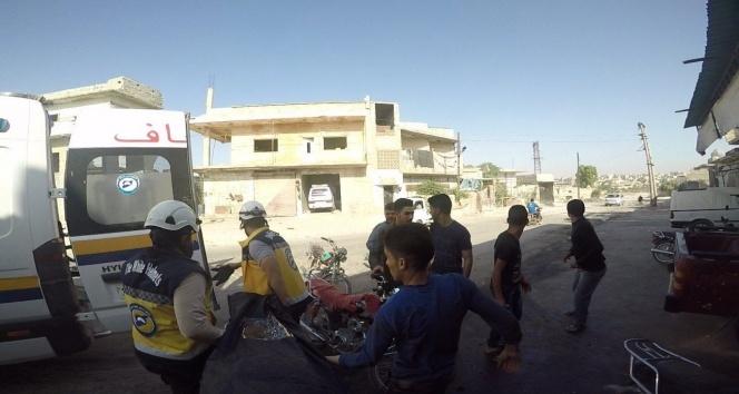 Suriye savaş uçakları İdlib civarını bombaladı, 8 sivil öldü