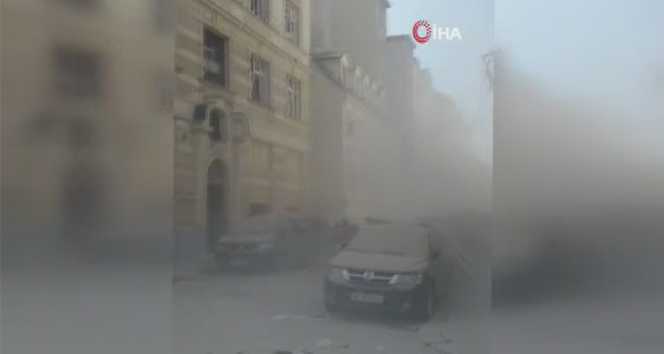 Viyana'da patlama: 10 yaralı
