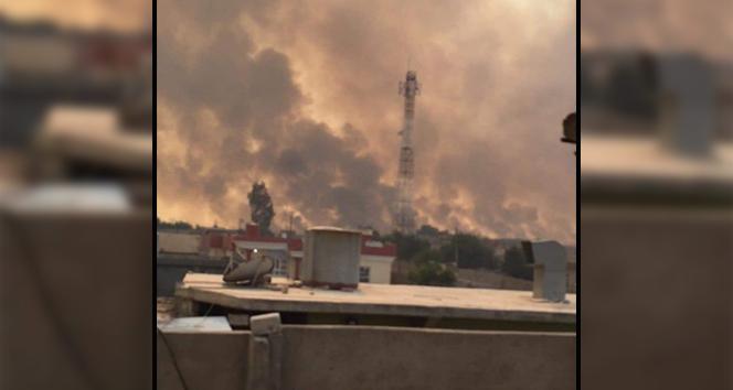 Musul'da kükürt fabrikasında yangın: 1 ölü