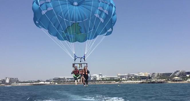 Antalya'da feci ölüm! |50 metre yükseklikten denize düştü
