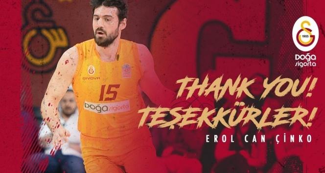 Galatasaray'dan Erol Can Çinko'ya teşekkür