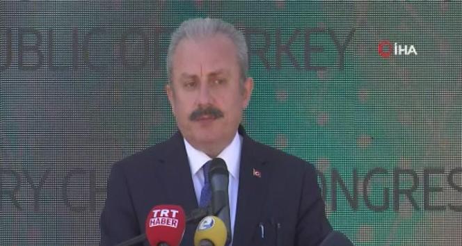TBMM Başkanı Şentop : 'Türkiye tarihi ve geçmişi ile iftihar eden insanların ülkesidir'