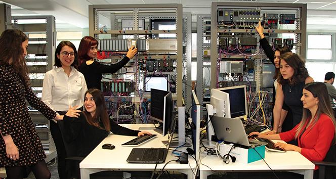 Gelecek kadın mühendislerle şekilleniyor