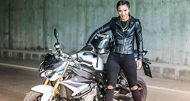 Survivor Sabriye'nin motosiklet tutkusu! Binlerce beğeni aldı