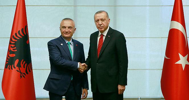 Cumhurbaşkanı Erdoğan, Arnavut mevkidaşıyla görüştü