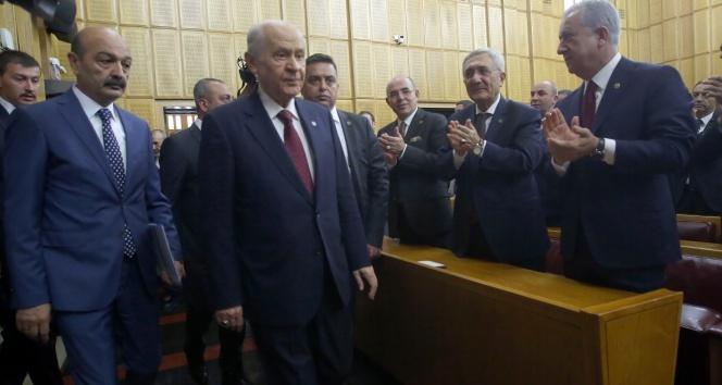 Bahçeli: 'Türk vatanını işgal emelleri hala bitmemiştir'