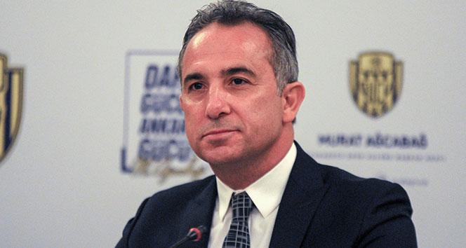 Murat Ağcabağ, MKE Ankaragücü başkanlığına aday olduğunu açıkladı