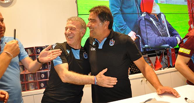 Trabzonspor Başkanı Ahmet Ağaoğlu'na futbolculardan sürpriz