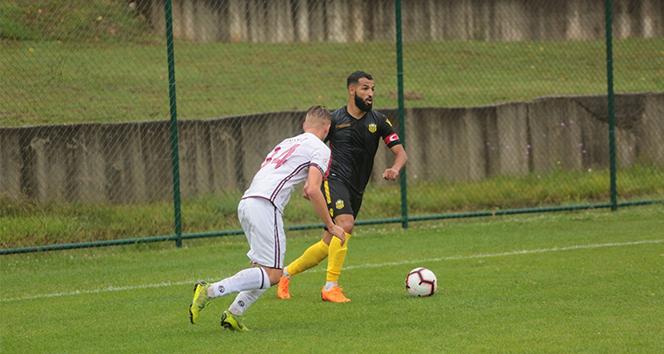 Hazırlık maçı: Evkur Yeni Malatyaspor: 0 - Rapid Bükreş: 2