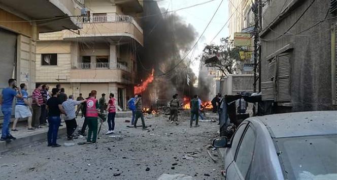 Suriye'nin Haseke kentinde patlama