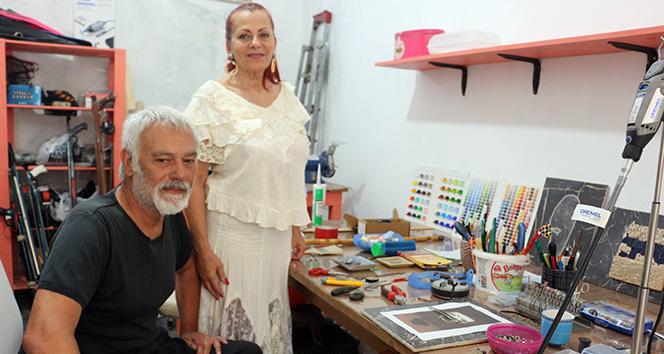 İtalya'da dişçiliği bırakıp Çanakkale'de köye yerleşti