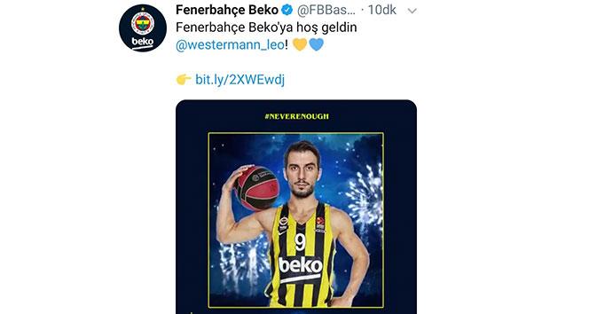 Fenerbahçe Beko, Westermann'ı açıkladı