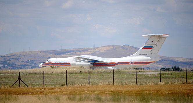 S-400 sevkiyatını işte o uçak yaptı: RA-76363