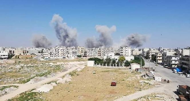 Esad rejimi İdlib'e yine saldırdı: 7 ölü, 35 yaralı