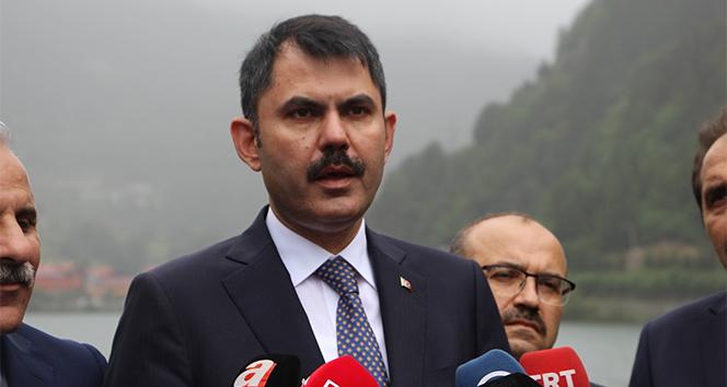 Bakan Kurum: 'Tıpkı Ayder gibi Uzungöl de dönüşecek'