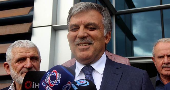 11. Cumhurbaşkanı Gül yeni parti sorusuna cevap vermedi