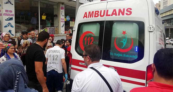 7 aylık hamile kadına kamyonet çarptı, vatandaşlar seferber oldu
