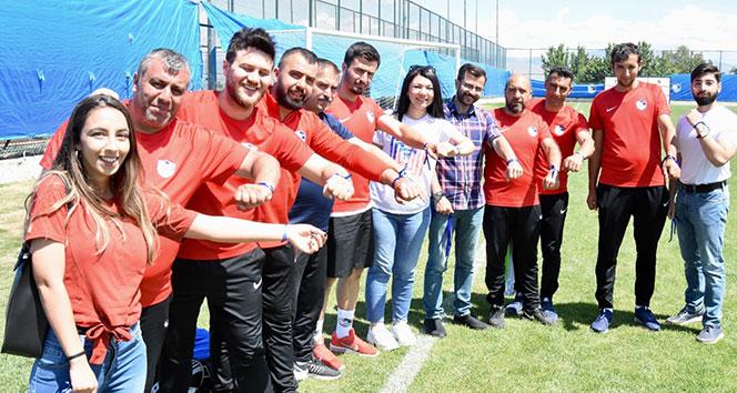 Antalyaspor ve BB Erzurumspor'dan çocuk istismarı ile mücadeleye destek