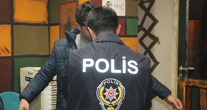 Elazığ'da huzur uygulamasında cezaevi firarisi yakalandı