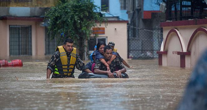 Nepal'daki sel felaketinde ölü sayısı 50'ye yükseldi