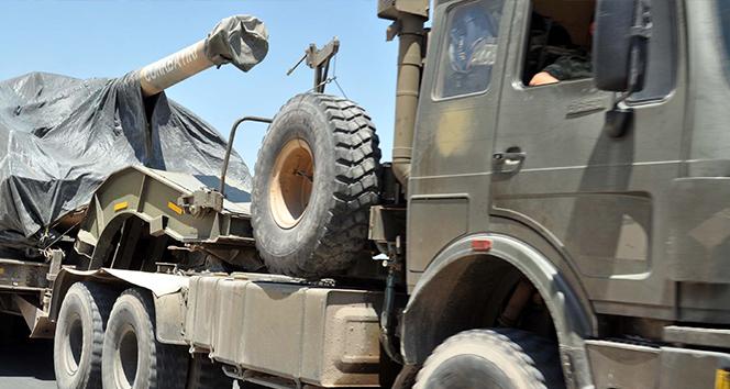Suriye sınırına askeri sevkiyat devam ediyor   !