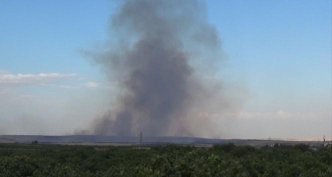 Suriye'den yükselen dumanlar korkuttu