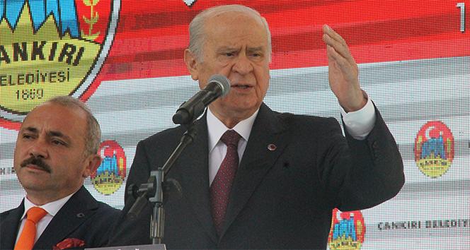 MHP Genel Başkanı Devlet Bahçeli'den Bülent Arınç açıklaması