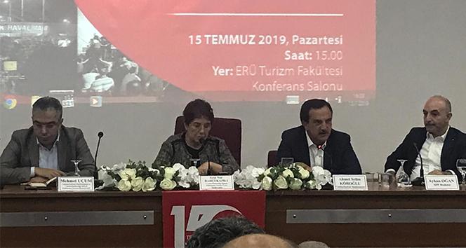 Cumhurbaşkanı Başdanışmanı Ahmet Selim Köroğlu: '15 Temmuz bir süreç ve bir anda olan bir şey değil'