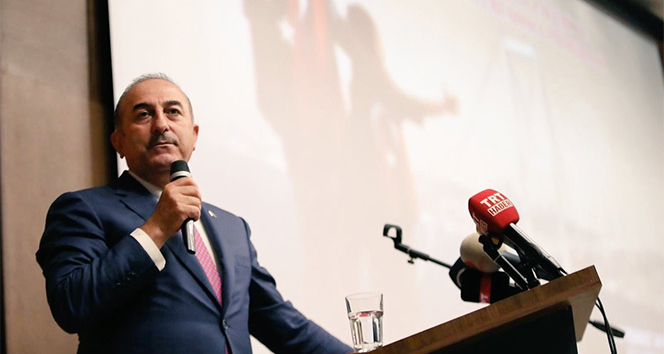 Bakan Çavuşoğlu'ndan Kıbrıs açıklaması