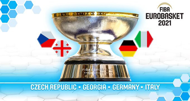 FIBA 2021 Avrupa Şampiyonalarına ev sahipliği yapacak ülkeler açıklandı