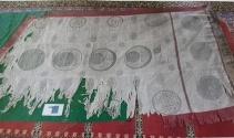 Hz. Süleyman Camii'ndeki kutsal sancak, terör olaylarından dolayı Gaziantep'e gönderilmiş