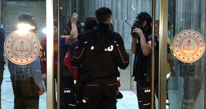 Ankara'da biber gazı 9 öğrenciyi hastanelik etti