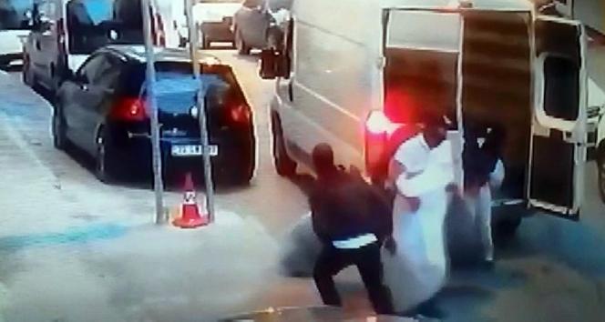 Arnavutköy'de şok eden hırsızlık