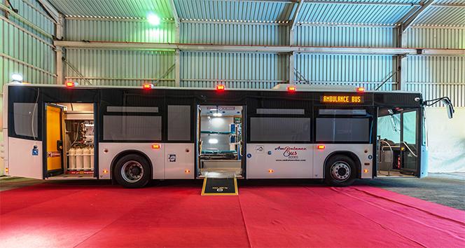 Dünyanın tam donanımlı ilk mobil hastane otobüsü görenleri şaşırttı