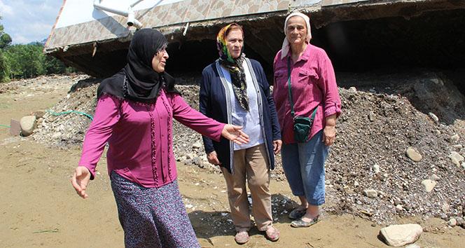 7 kişinin kaybolduğu Esmahanım Köyü'nde yaşayan vatandaşlar felaket anını anlattı