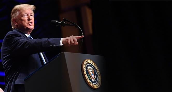 Trump: 'İran'ın İHA'sını düşürdüğümüze şüphe yok'