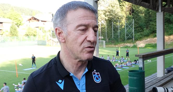 Ağaoğlu: 'Futbolcu satarak para kazanacağımız sezon bu sezon değil'