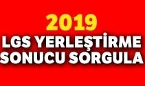 2019 LGS yerleştirme sonuçları MEB | LGS YERLEŞTİRME SONUCU SORGULAMA 22 TEMMUZ 2019