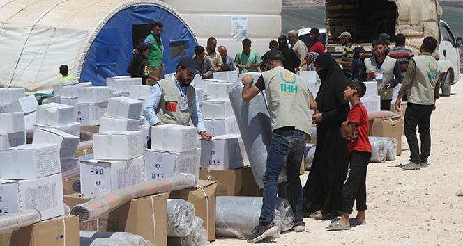 İHH ve BM'den İdlib'e yeni kamp