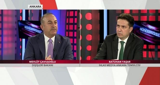 Bakan Çavuşoğlu, TGRT Haber Gündem Özel'de soruları cevaplandırdı