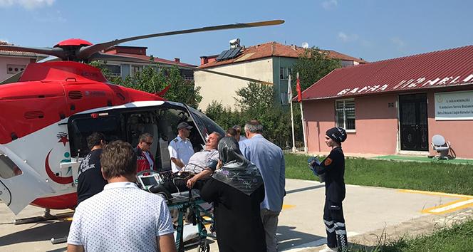 Belediye başkan yardımcısı için helikopter istendi
