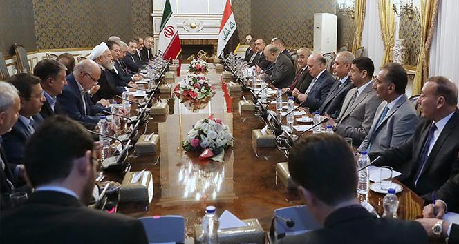 Irak Başbakanı Abdülmehdi, Ruhani ile görüştü