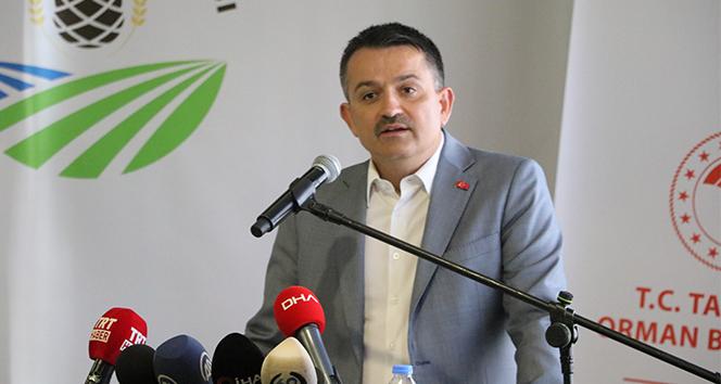 Bakan Pakdemirli: 'Türkiye'de futboldan daha çok konuşulan konu tarım ve hayvancılık'